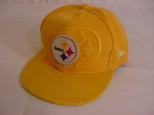 New-Era-PITTSBURGH-STEELERS-NFL-HAT-Yellow-Snapback
