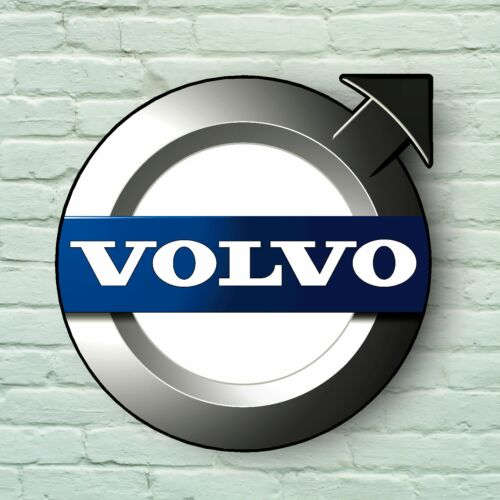 VOLVO CAR LOGO 2FT LARGE GARAGE SIGN WALL PLAQUE V50 S60 S40 S80 XC60 XC90 T5