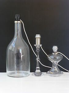ingo maurer ausgabe m design folge von 3 lampen glas 1960 vintage design 60s ebay. Black Bedroom Furniture Sets. Home Design Ideas