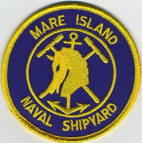 Submarine Patch C7083 Mare Island Shipyard Cat NO