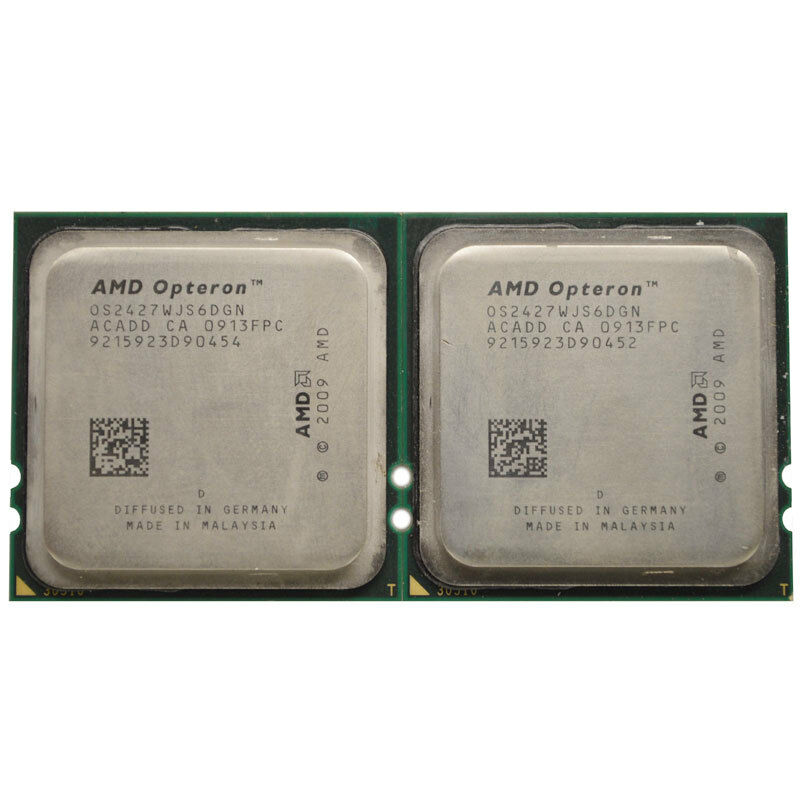 - Tested 1207 OS2435WJS6DGN Socket Fr6 AMD Six-Core Opteron 2435 2.60GHz