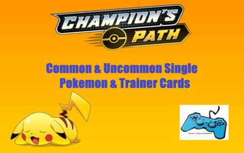 Pokemon SWSH Champions Path Card Singles - Uncommon / Common TCG
