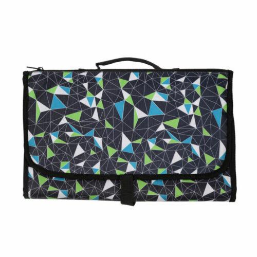 Baby Portable Folding Diaper Travel Changing Pad Waterproof Mat Bag Storage Pad