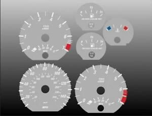 2000-2006-BMW-3-Series-Coupe-Dash-Instrument-Cluster-GREY-Face-Gauges-E46