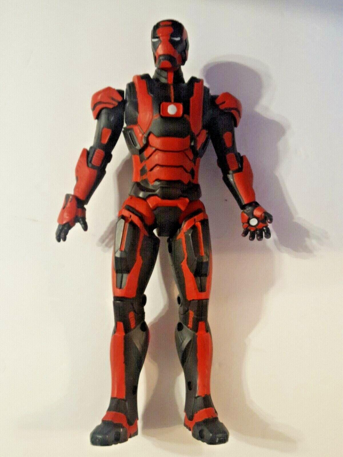 IRON MAN Iron Patriot Arc Strike MAROON Action Figure A1955, C-023E, HTF