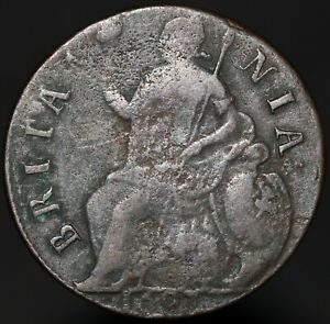 1697-William-III-Half-Penny-Copper-Coins-KM-Coins