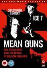Mean Guns DVD 5037899059609 Christopher Lambert Ice-t Michael Halsey Deb.