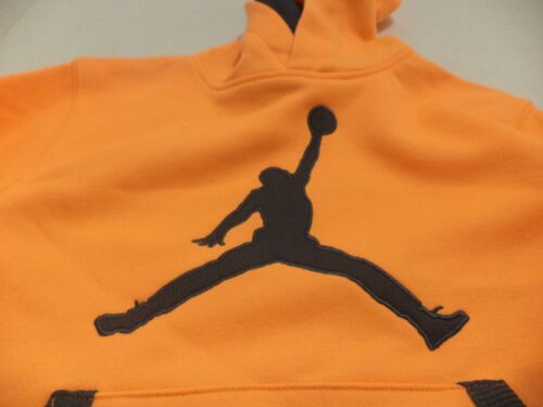 L Color Dark Gray /& Mango Kids/' Youth Nike Air Jordan Therma-Fit Hoodie Size M