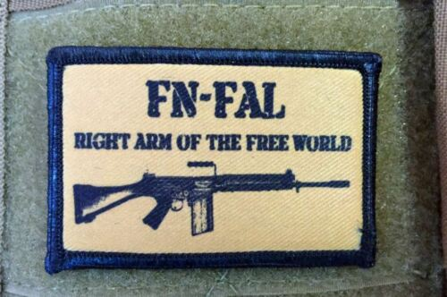 FAL Operator Morale Patch 308 NATO Tactical Military Army Hook Flag USA Badge