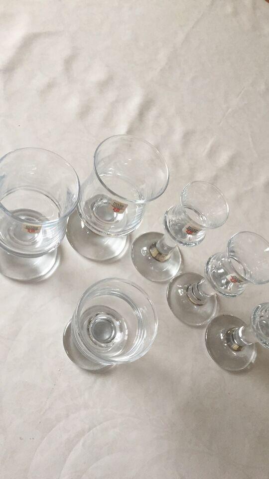 Glas, Ølglas, snapsglas