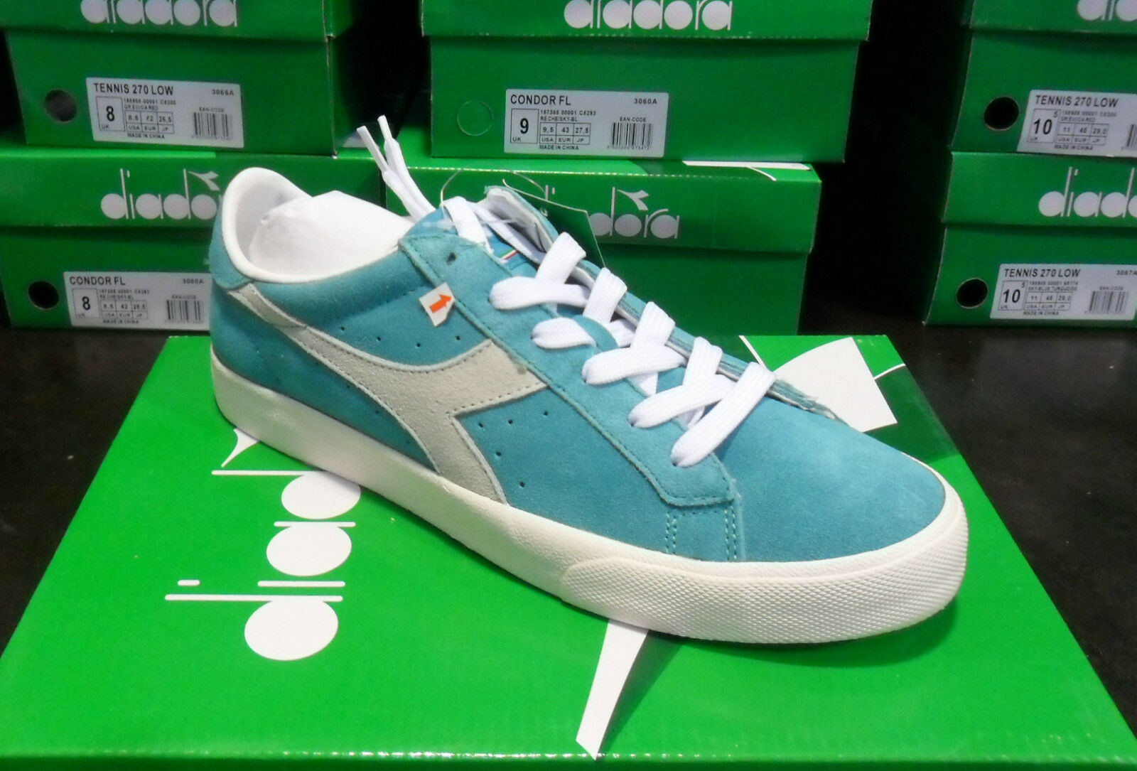 FW14 DIADORA NR. 38 MEN'S SHOES WOMAN TENNIS 158908 65174 MARCO MENGONI