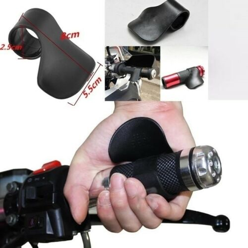 General Black Motorcycle Throttle Assist Clamp Aid Cruise Control Handlebar Grip