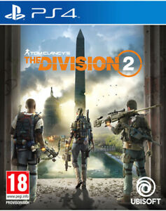 The-division-2-ps4-NUOVO-amp-OVP-uncut-spedizione-lampo
