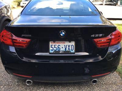 Black License Plate Frame M POWER BMW Motorsport 1M M2 M3 M4 M5 M6 235 323 428