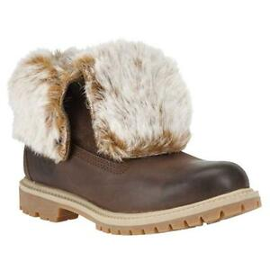 botas Authentic 8321a £ ¡Solo mujer 99 invierno 79 de Fold Brown para Down Timberland 4XaqX