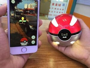 Pokeball Powerbank 10.000mAh LED Quick Phone Charger. Universal