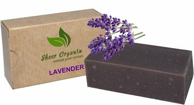Health & Beauty Certified Organic Sheer Organix Rejuvenative Herbal Soap 4 Oz Lavender Keep You Fit All The Time