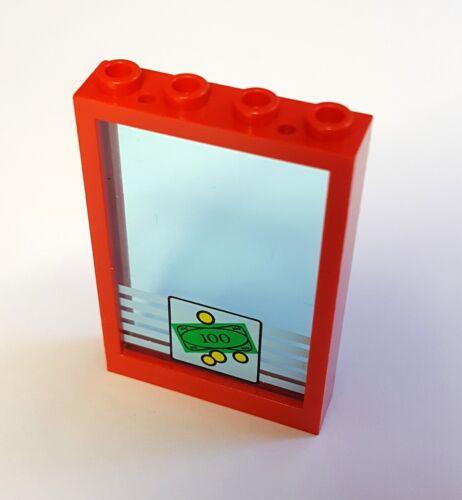 Lego 2493 2494 Fenster Rahmen mit Scheibe 1x4x5 Bank zwei Farben Auswahl 41
