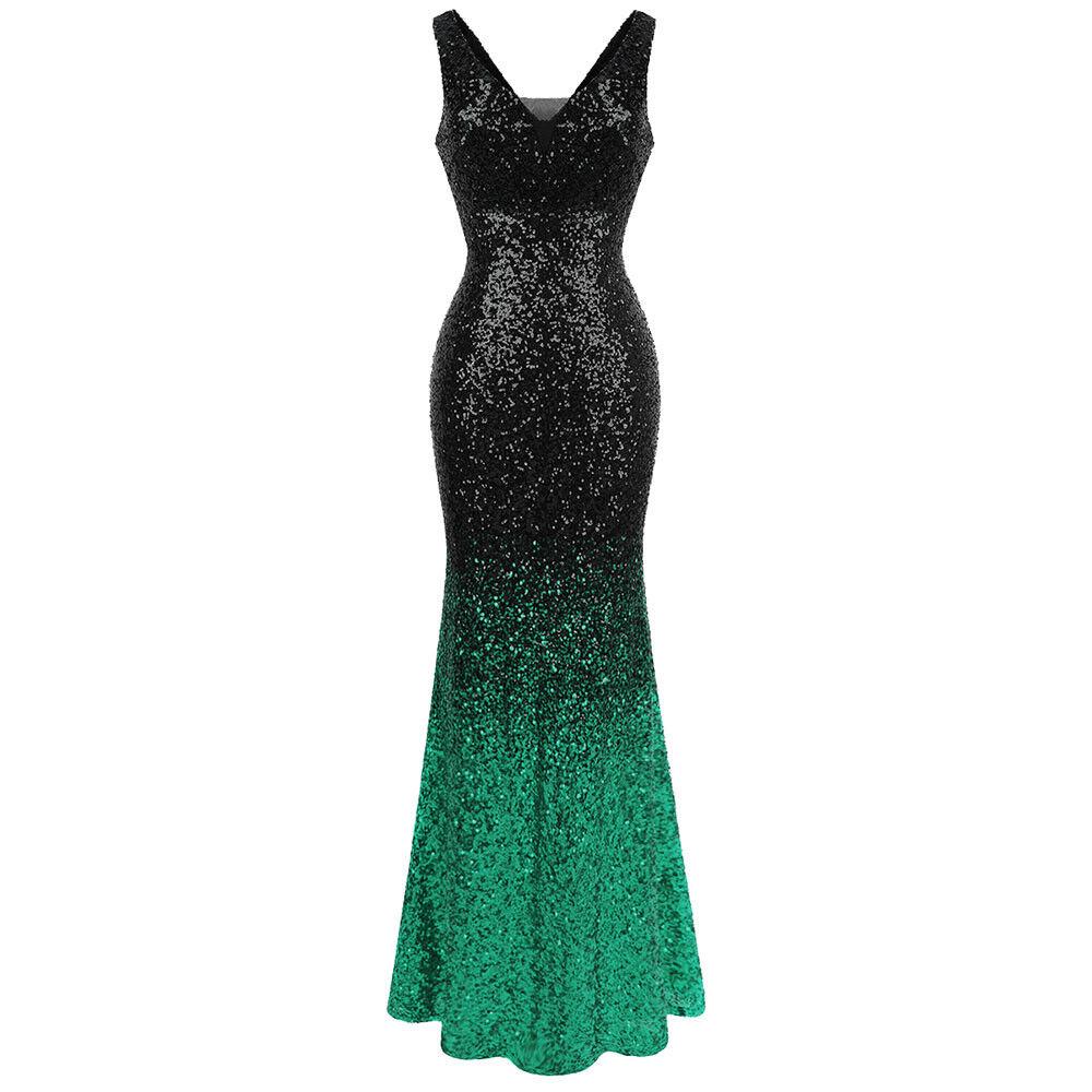 Angel-fashions V-Ausschnitt Funkeln Paillette Gatsby 20s Flapper Party kleid 382 382 382    Sonderangebot    Deutschland Online Shop    Shop  72423a