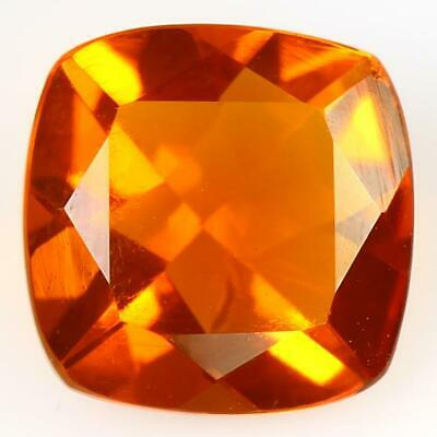 Fine Quality Orange Mexican Color Opal Cabochon Oval Shape Loose Gemstone Ring Size Welo Fire Opal Gemstone 11x7x4 MM 1.75 Ct