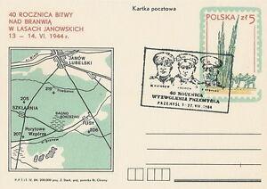 Poland postmark PRZEMYSL - WW II liberation - Bystra Slaska, Polska - Poland postmark PRZEMYSL - WW II liberation - Bystra Slaska, Polska