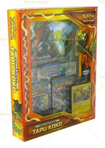 Box Pokemon Tapu Koko Edizione Italiana Con Carta Gigante