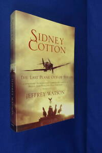 SIDNEY-COTTON-THE-LAST-PLANE-OUT-OF-BERLIN-Jeffrey-Watson-AGEING-BUT-RARE-Book