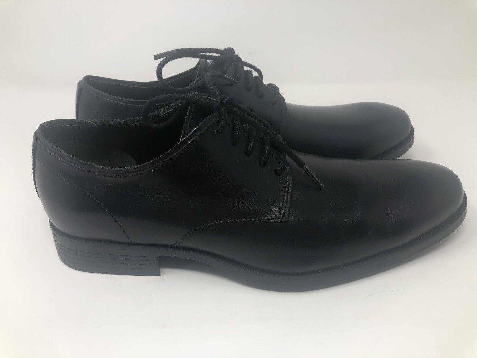 Nuevo COLE HAAN para hombres Cuero Negro LLANO TOE OXFORD Williams Williams OXFORD zapatos M 0bad47