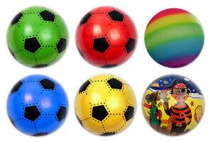 Details Zu Spielball Spielballe Fussball Pirat Regenbogen 23 Cm Ball Wasserball Strandball