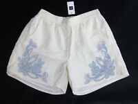 Gap Kids Girls Size Small 6-7 Or Large 10 White & Blue Embroidered Shorts