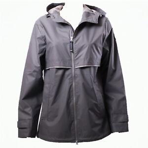 c61f777c4 Details about Women Charles River NEW ENGLANDER 5099 Grey Rain Jacket