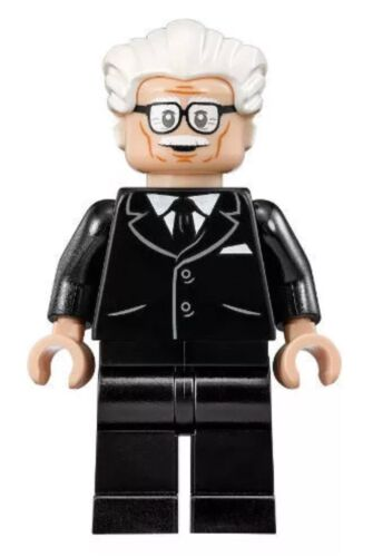 Authentic Lego DC Super Heroes Classic TV Series 76052 Alfred Pennyworth Minifig