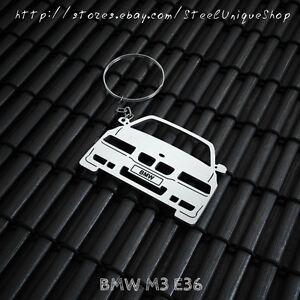 BMW M3 E36 Stainless Steel Keychain | eBay