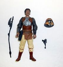 STAR WARS LANDO CALRISSIAN Skiff Guard Action Figure OTC 99% COMPLETE C9+ 2003