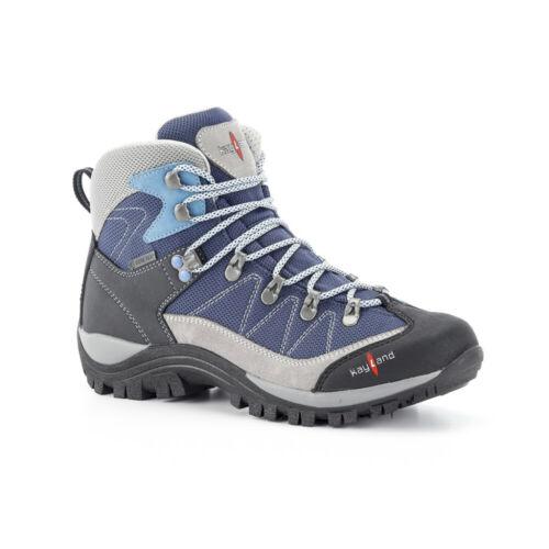 Scarpone Trekking Donna Kayland Ascent W Goretex Escursione Montagna Grigio Blue