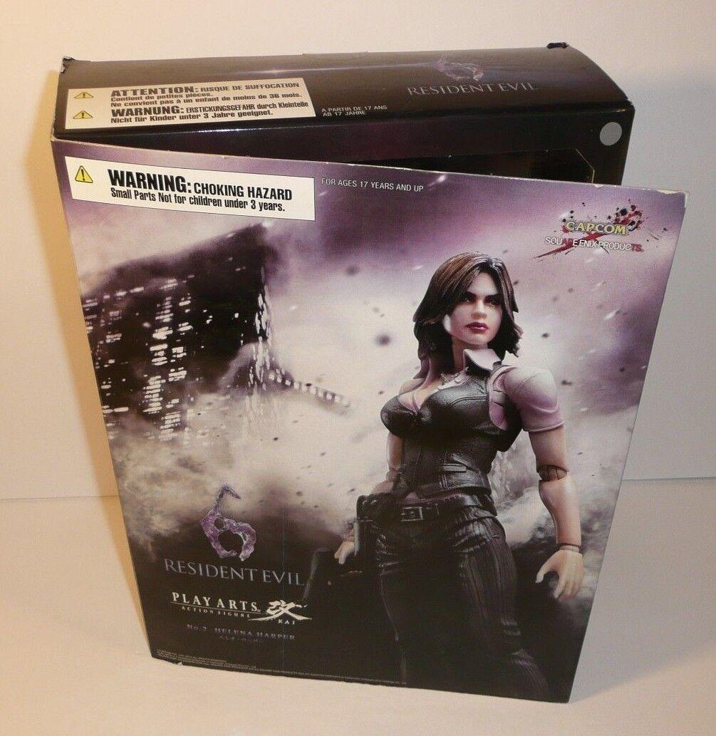 Resident Evil 6 Play Arts Kai Helena Harper Figure Capcom Capcom Capcom w  Guns, Hands 2d0165