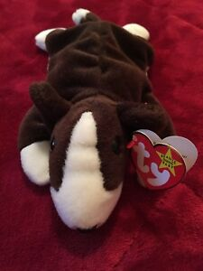 d477c5af6bc Image is loading TY-Beanie-Baby-Bruno-the-Dog-1997-with-