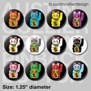 12-MANEKI-NEKO-1-25-034-pinback-buttons-badges-japan-lucky-charm-cat-pins