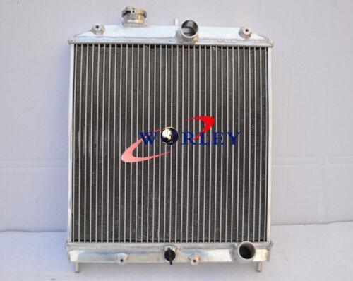 3 ROW for 92-00 ALUMINUM RADIATOR Honda Civic EK EG D15 D16 28MM PIPE