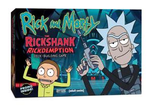 THE RICKSHANK RICKDEMPTION DECK-BUILDING GAME RICK AND MORTY