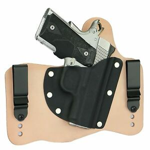 FoxX Leather & Kydex IWB Hybrid Holster Kimber 1911 Ultra ...
