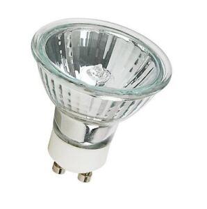 Halogen 120v Gu10 Base Mr16 Face Type Light Bulb 20w 35w