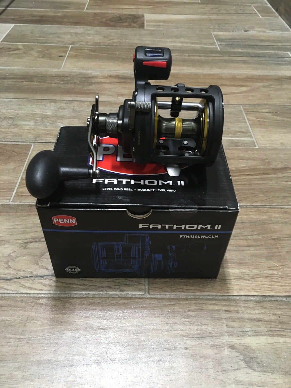 Penn  Fathom FTHll30LWLCLH 30 level wind line counter left hand conventional reel  selling well all over the world