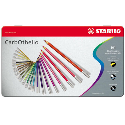 36 Stabilo Carbothello Colouring Pencils Tins of 12 48 /& 60 Available 24