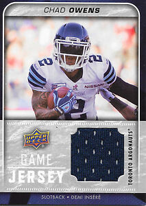 2015-Upper-Deck-CFL-GJ-CO-Chad-Owens-UD-Game-Jersey