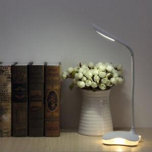 8W LED Tisch-Leuchte Schreibtisch-Lampe Büro dimmbar Touch Leselampe Nachttisch