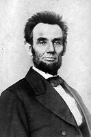 New 5x7 Civil War Photo: President Abraham Lincoln in 1865