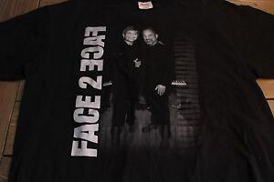 2001 Face 2 Face Billy Joel Elton John Tour Shirt Black XL