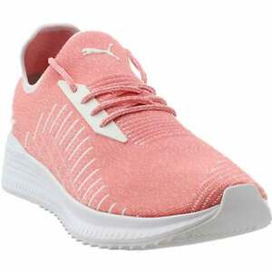 Puma-Avid-Evoknit-Lace-Up-Sneakers-Casual-Pink-Mens