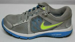 Arrugas Metro Destino  Nike Dual Fusion Para Mujer Talla 8 M Metálico Plata Azul Tenis para Correr  525752-002 | eBay